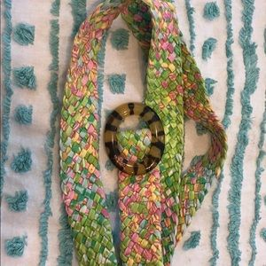 Lilly Pulitzer colorful belt!